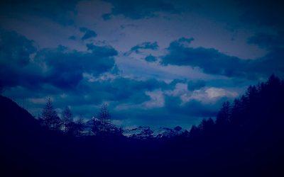 Le montagne blu