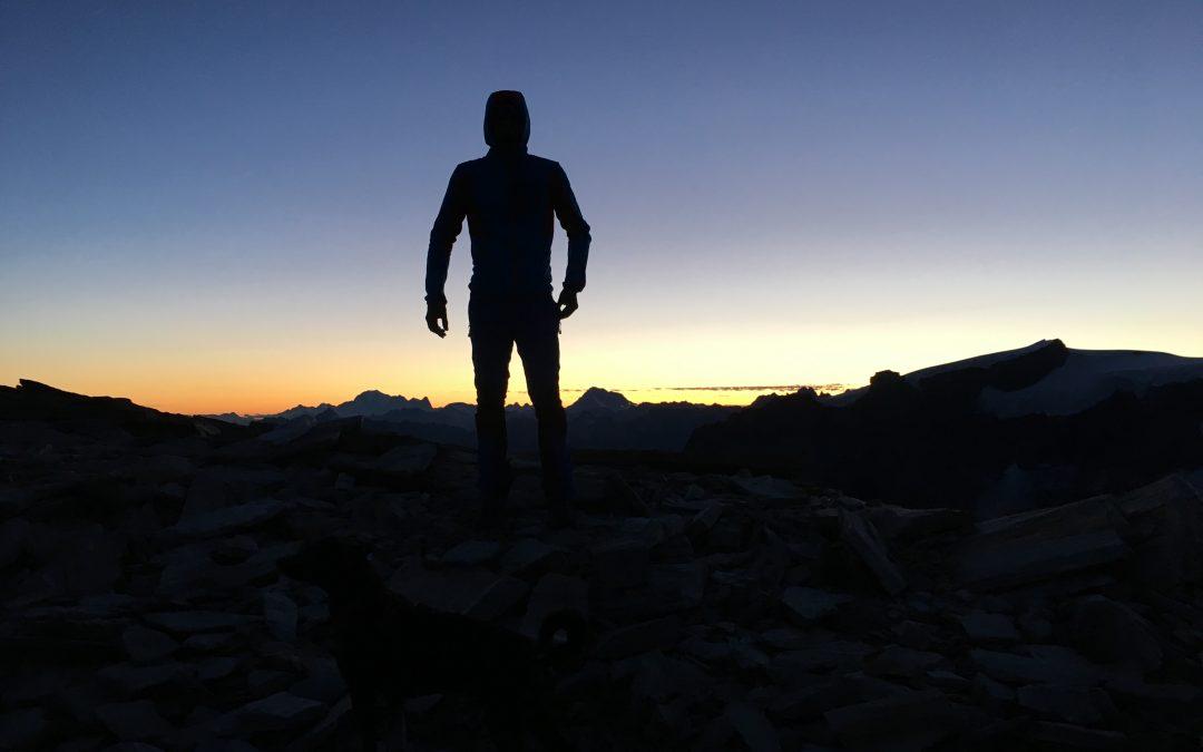 Un tramonto speciale, circondati da ombre