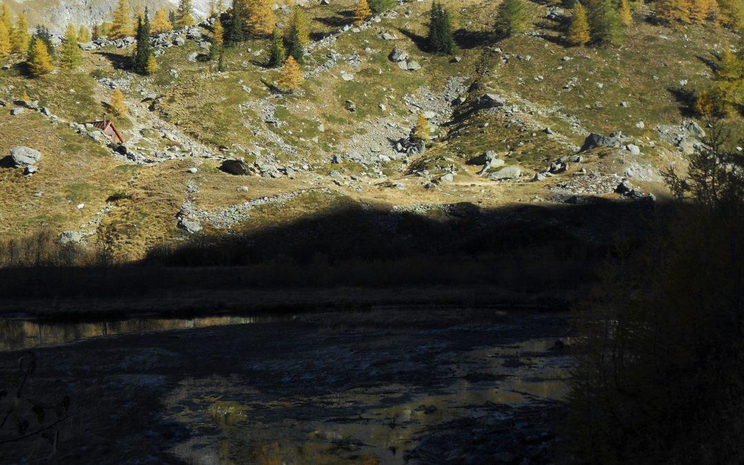 Una mattina al Lac Combal