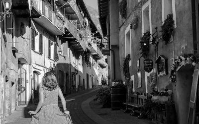 Passeggiando per le strette vie dell'antico Borgo medievale