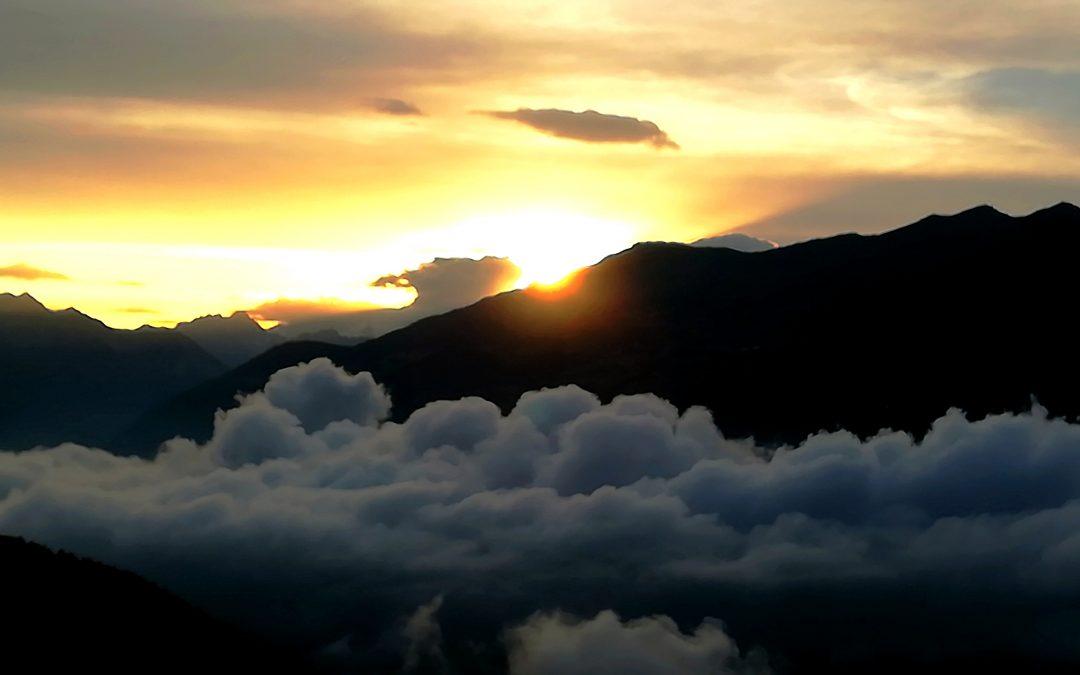 Il nascondino di sole e nuvole