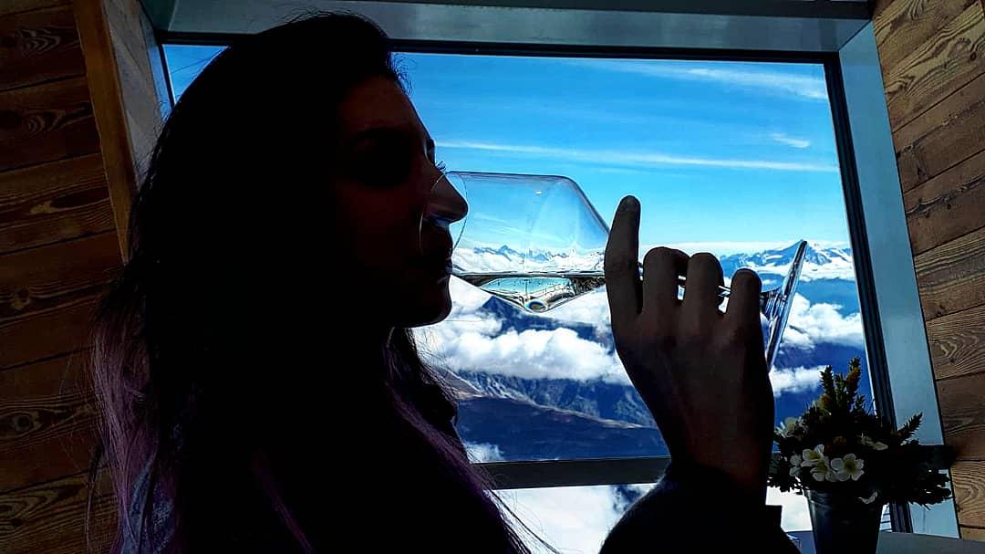 Il cielo in un bicchiere