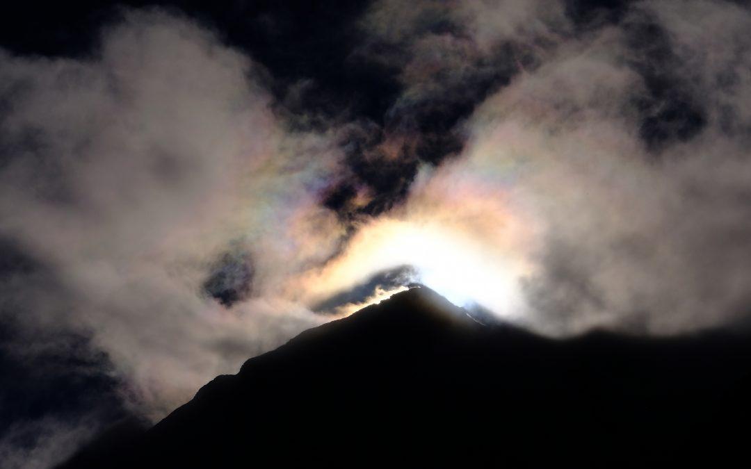 Il sole e la montagna