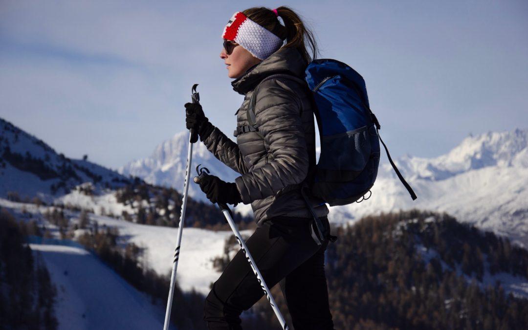 La donna in montagna