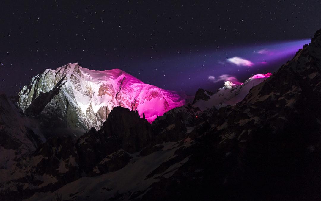 Soirée di gala per il Monte Bianco