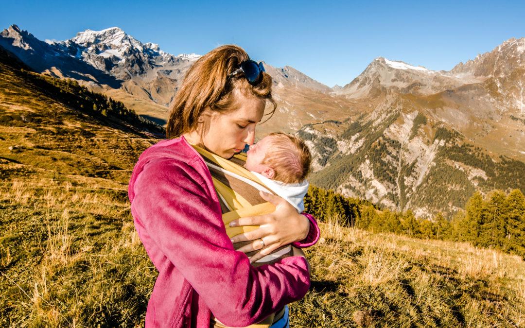 Amore materno tra le montagne