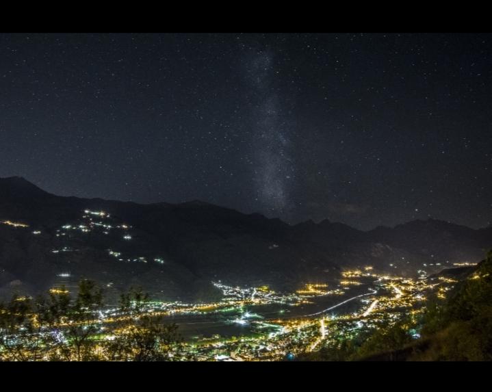 Via Lattea su Aosta