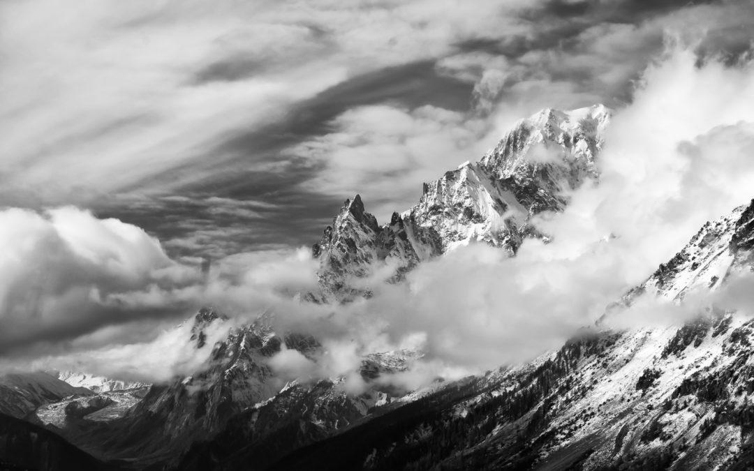 Monte Bianco – Il tempo si apre